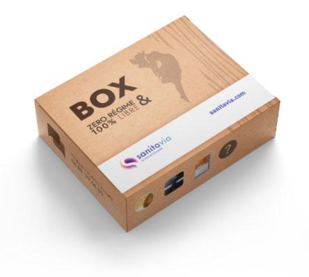 Box minceur sanitavia pour maigrir vite sans régime et sans sport