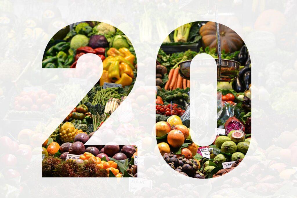 Les 20 aliments les plus amaigrissants de la planète