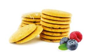 Biscuit Protéiné Fruits Rouges
