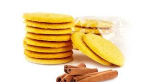 Biscuit protéiné Pomme Cannelle